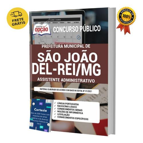Apostila São João Del rei Mg Assistente Administrativo