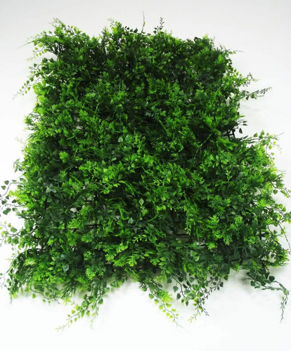 5 Placas Samambaias Verde Decoração Muro Inglês 40x60 Cm