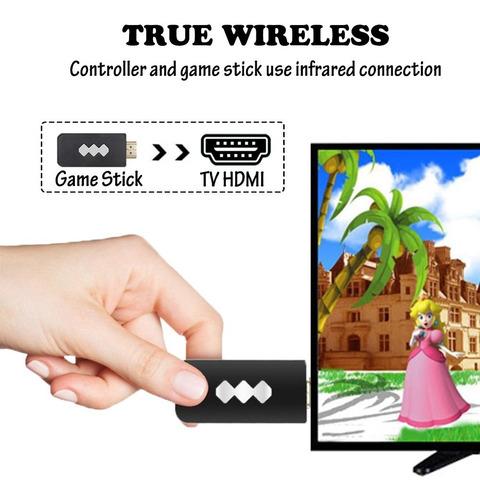 Consola Clasica Inalámbrica Hdmi 818 Videojuegos Retro Mario - Ecart