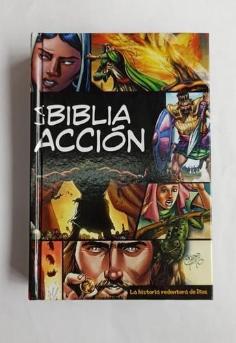 La Biblia En Acción Ilustrada En Comics / Tapa Dura