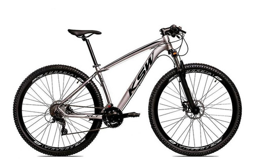 Bicicleta Alum Ksw Shimano Altus 24v Freio Hidráulico Krw18