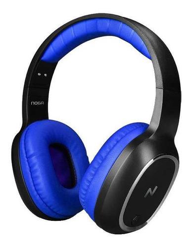 Auriculares Inalámbricos Noga Aris Ng-bt469 Azul Y Negro