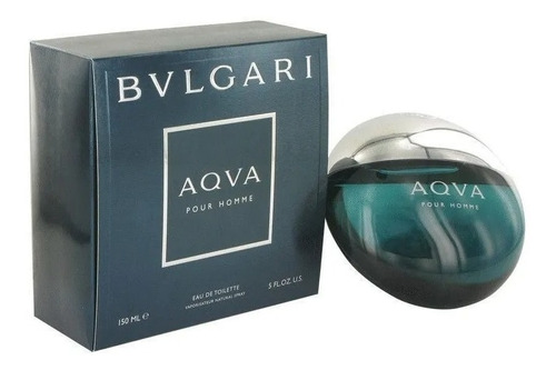 Perfume Locion Bvlgari Aqva 150 Ml La - mL a $1067