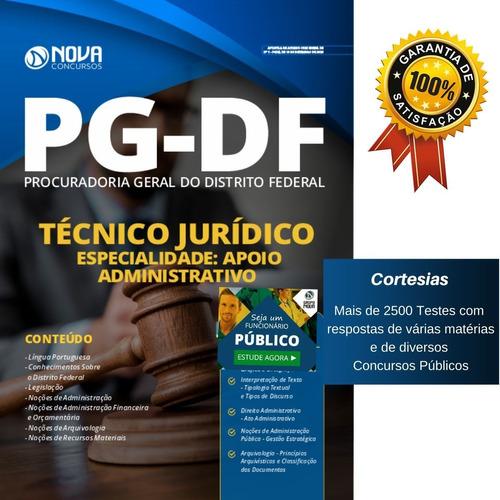 Apostila Técnico Jurídico Procuradoria Geral Pg Df Admin