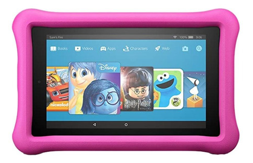 Tablet  Amazon Kids Edition Fire 7 2017 7  16gb Pink Con 1gb De Memoria Ram