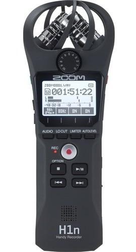 Gravador Digital Zoom H1n Profissional Estéreo Original