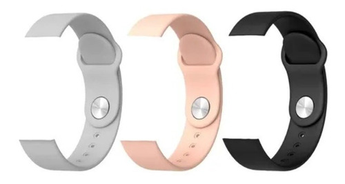 Kit 2 X Pulseiras Silicone Relógio Smartwatch D20 D13 Y68