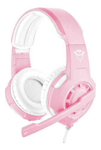 Headset Gamer Trust Radius Pink Edition P2 Gxt 310p