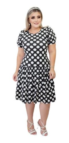 Vestido Feminino  Gode  Moda Evangélica Comportada Silvana