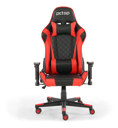 Cadeira Gamer Pctop Deluxe Vermelha -x-2521
