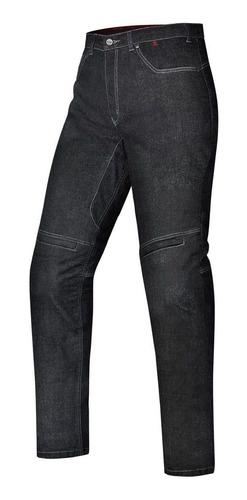 Calça Jeans Feminina Ride X11 Preta Moto C/ Proteção A Vista