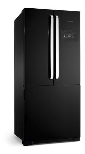 Geladeira Frost Free Brastemp Bro80a Preta Com Freezer 540l 220v