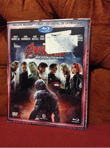 Avengers Era De Ultron Bluray+dvd Hd Digital