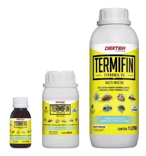 Termifin 1 Litro Fipronil 2,5% Multi-insetos Dext