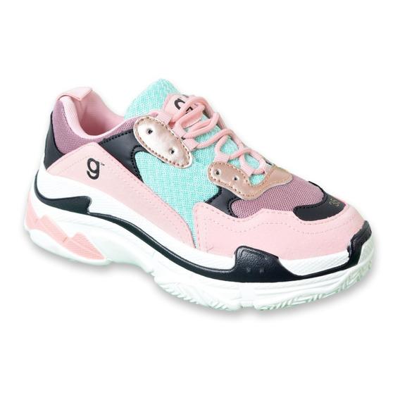 Zapatilla Balen Mujer Gummi Sneakers Plataforma Originales!!