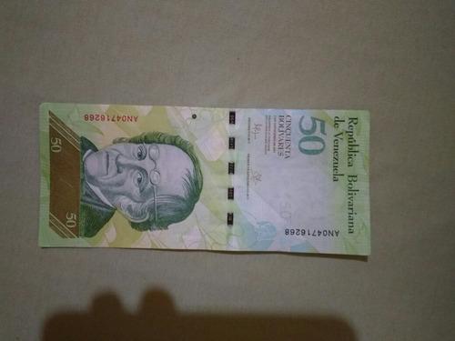 Cedula 50 Bolivares Fe Frete7$