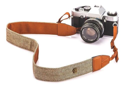 Correa Strap Vintage Para Cámara Dslr Nikon Canon Sony