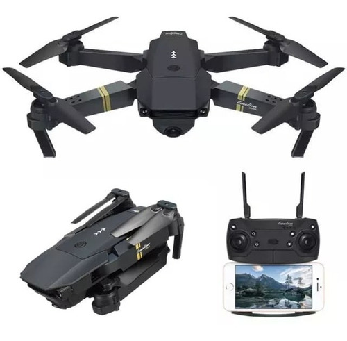 Drone Eachine E58 Dobrável Completo Com Câmera Original Nf
