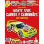 Livros Infantis Monte Seus Carros E Caminhões Com Adesivo