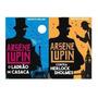 Kit 2 Livros Arsene Lupin Ladrão De Casaca Contra Herlock