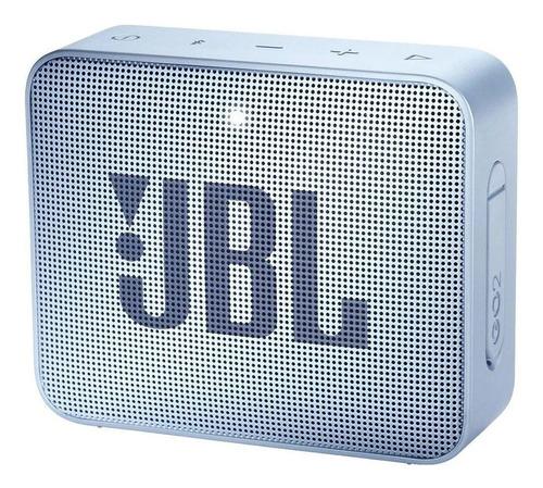 Parlante Jbl Go 2 Portátil Con Bluetooth Icecube Cyan 110v/220v