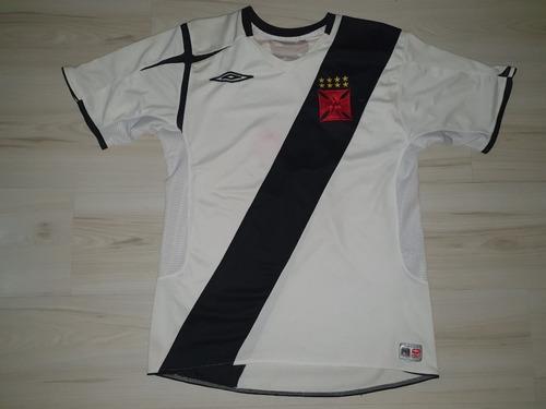 Rara Camisa De Jogo Do Vasco Da Gama 2006 Umbro #2 Diamond