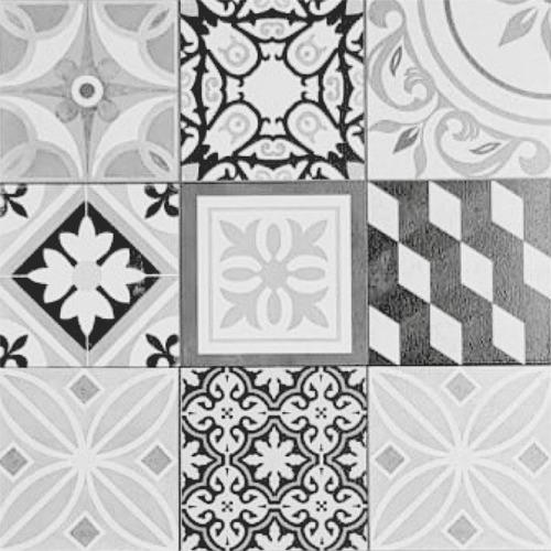 Cerámica Calcáreo 56x56 Lourdes 1ra Gris Xm2- Ceramisur