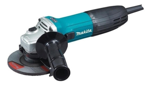 Esmerilhadeira Angular Makita Ga4530 Azul-turquesa 120v