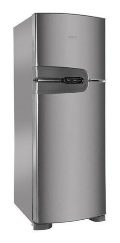 Geladeira Frost Free Consul Crm43n  Inox Com Freezer 386l