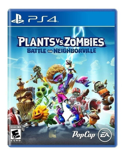 Plants Vs. Zombies: Battle For Neighborville Standard Edition Electronic Arts Ps4  Físico