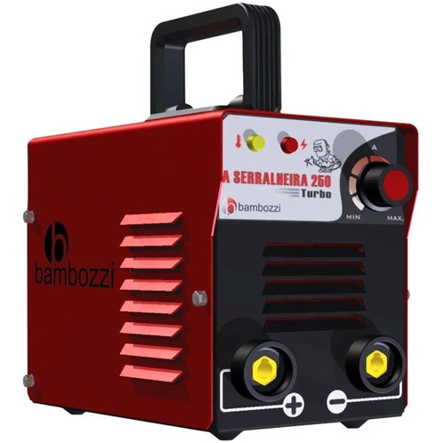 Inversora Máquina De Solda Bambozzi Serralheira 250turbo Biv