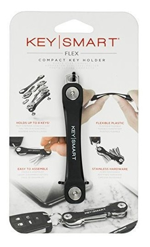 Keymart Flex | Llavero Compacto Organizador De Negro