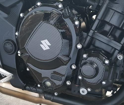 Protetor Adesivo Motor Relevo 3d Moto Suzuki Bandit 650 S N