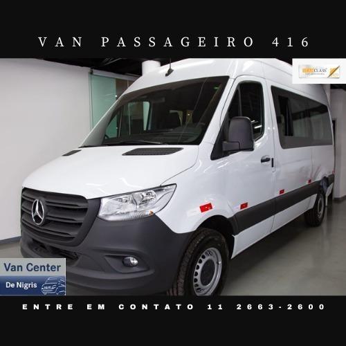 Mercedes-benz Sprinter Van Passageiro Teto Alto  16 Lugares