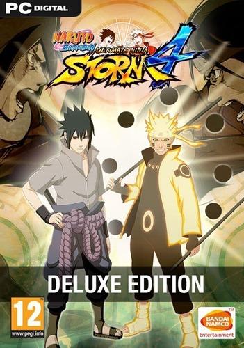 Naruto Shippuden Ultimate Ninja Storm 4 + 8 Dlc's - Pc