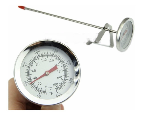 Termómetro Análogo Punzón, Cocina, Alimentos, Industria.21cm