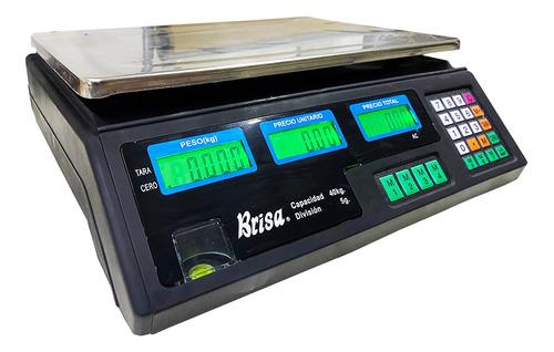 Balança Eletrônica Digital 40kg Bivolt Precisão Nova Descont