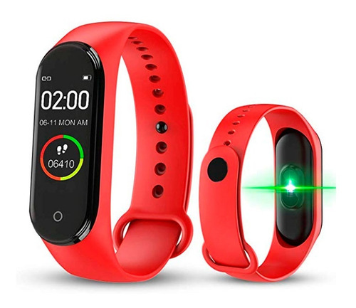 Relogio Smartwatch Pulseira Inteligente M4 Monitor Cardíaco