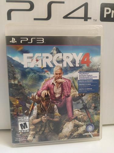 Far Cry 4 Ps3 Físico Usado