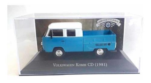 Volkswagen Kombi Cd 1981 1:43