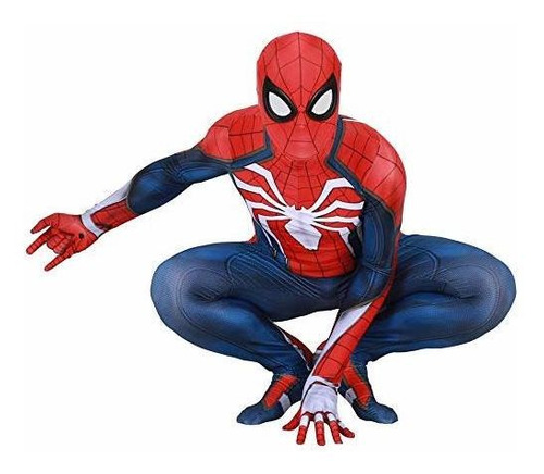 Disfraces - Bisika Cos Unisex Spider Man Cosplay Costume Bod