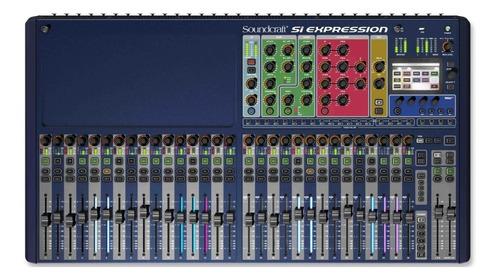 Mixer Soundcraft Si Expression 3 Mesa Digital