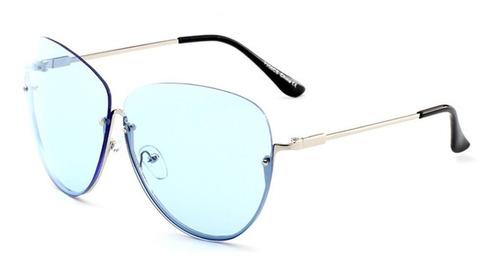 Óculos Lisos De Personalidade Armações Metálicas Redondas Me