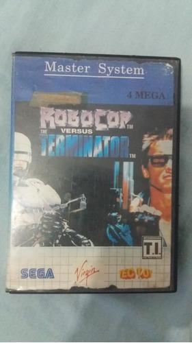 Jogo Robocop X Terminator Para Master System - Tectoy
