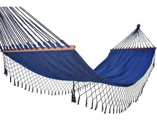 Rede De Dormir Americana Descanso Casal Com Madeira
