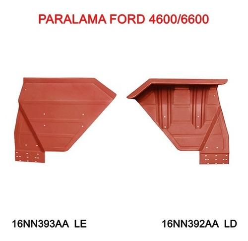 02 Paralamas Trator Ford 4600/6600 - Ld E Le