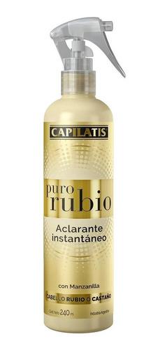 Aclarante Capilatis Instantaneo Puro Rubio