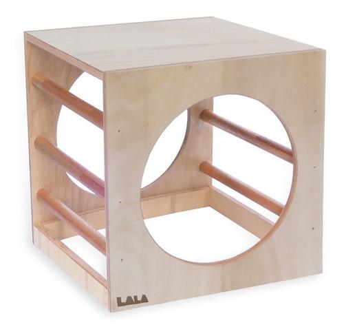 Cubo Pikler Montessori Psicomotricidad Niños Con Barras A
