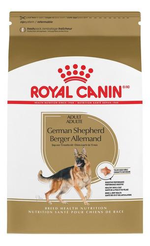 Alimento Royal Canin Breed Health Nutrition German Shepherd Para Perro Adulto De Raza Grande Sabor Mix En Bolsa De 13.6kg