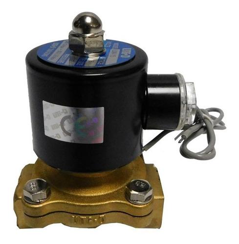 Valvula Solenoide 1/2 Uni-d 110vac/220vac Uw Aire Agua Aceit